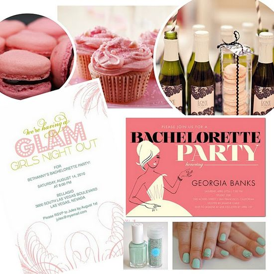 glam bachelorette party ideas