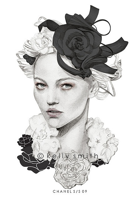 kelly smith#illustration #painting #drawing #fashion