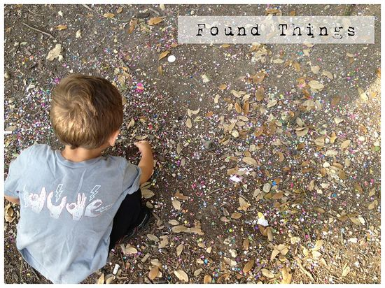one of our favorite past times as of late, walking & talking & finding found things. a great way for children to connect with nature too!