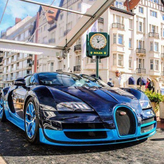'Life of the rich and famous' - Bugatti Veyron