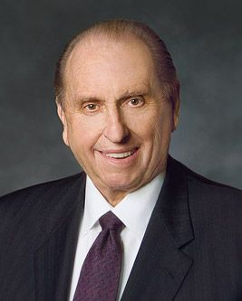 """""""Never let a problem to be solved, become more important than a person to be loved.""""   ? President Thomas S. Monson"""