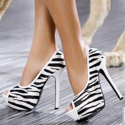 Animal Print Heels
