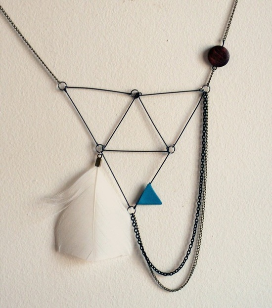 connector necklace by jewiseha