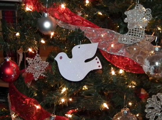 #Cricut Ornament - so many ideas with Cartridges & craft room