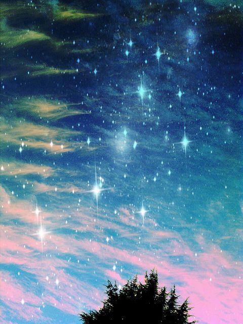Dream On sky stars space