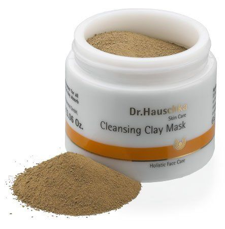 Dr.Hauschka Cleansing Clay Mask by Dr.Hauschka. $49.95. Spot Treat Pimples: Help pimples fade away overnight by spot treating with prepared Cleansing Clay Mask or Dr.Hauschka's Rejuvenating Mask.. A deep cleanser. Blackheads are reduced and dead skin cells are sloughed away.. Special treatment for large-pored skin with a tendency to blemish.. Key Plant Ingredients: Clay Earth, Indian Cress, Witch Hazel and Corn Starch.. Designed to support and encourage the skin's ability to take...
