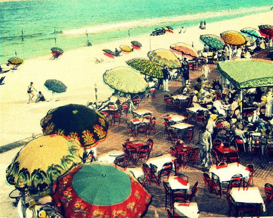 beach decor UMBRELLA BEACH