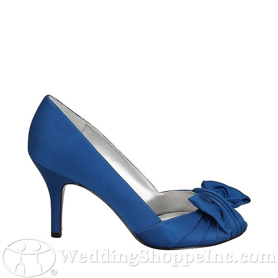 Nina Forbes shoes as your something blue!