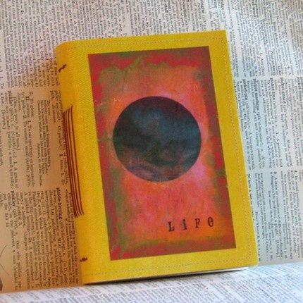 Handmade journal by #bc rich handmade #handmade valentine cards #french braid #diy