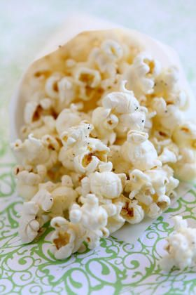 Truffled Popcorn Recipe - just had this at a friends - it was DElish!!