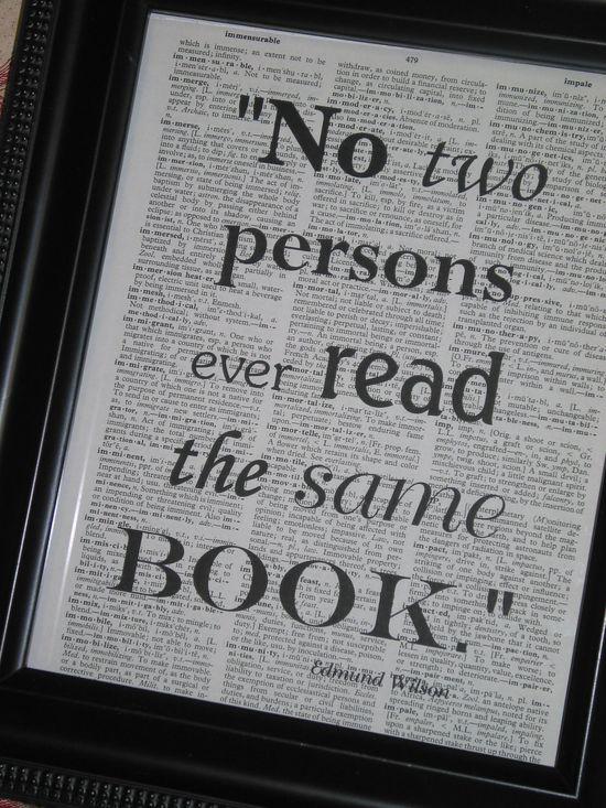 We all read uniquely. #Read