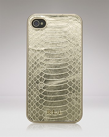 Lauren Ralph Lauren iPhone 4 Case - Banbury Snake