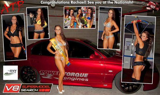 Congrats to Miss V8 Supermodel finalist Rachael Burnes! #redhotpie #bikini #model #sexy #hot