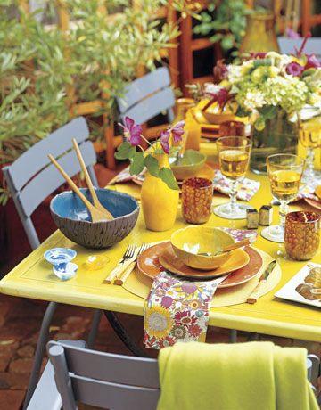 Gorgeous garden party!  :)