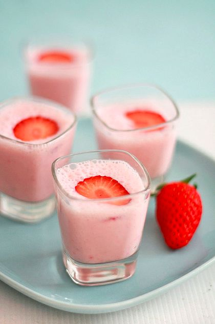Strawberry Mousse!