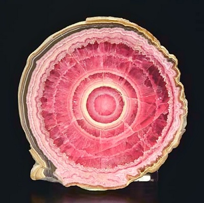 Rhodochrosite Beautiful shades of pink!