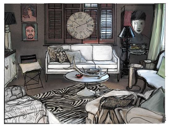 Living Room Design Ideas with Susanna Salk: A Valorie Hart Room
