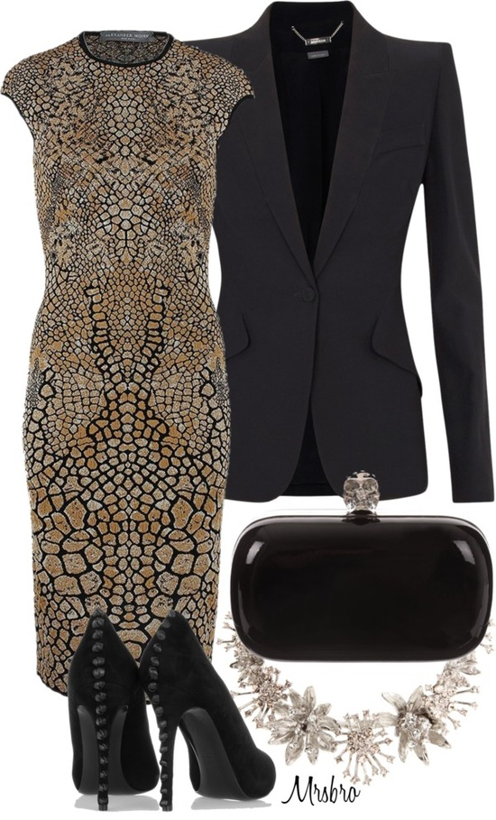 """Alexander McQueen"" by mrsbro on Polyvore"