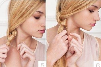 cute, easy hair styles for medium-long hair