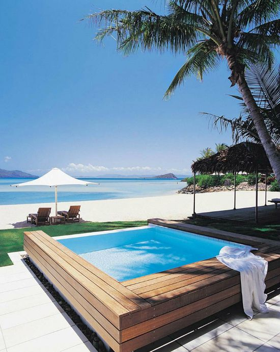 Hayman island resort #Australia #pool #beach
