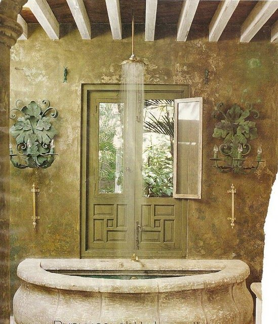 Most Rustic Tub Shower
