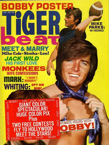 Tiger Beat Magazine - OMG Bobby Sherman