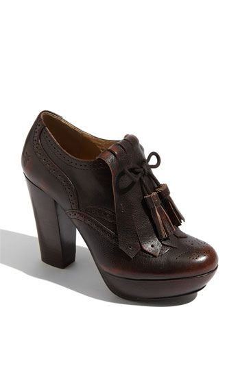 Oxford bootie for Fall.. #shoes