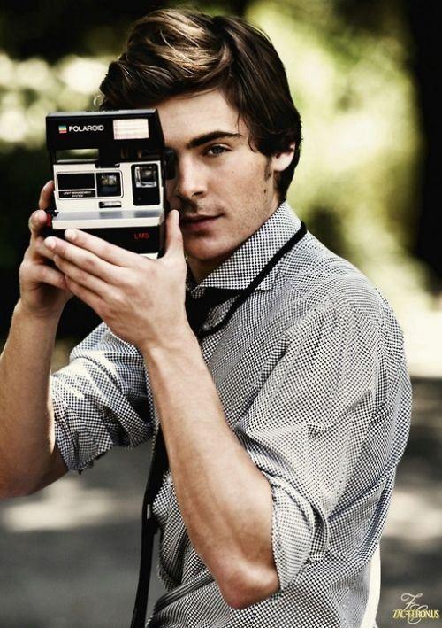 Zac Effron + Camera = Perfection