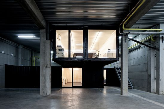 Drukta and Formail offices by FIVE AM, Kortrijk – Belgium
