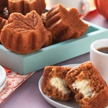 Inside Out Pumpkin Muffins