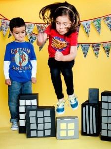 Superhero party - sk