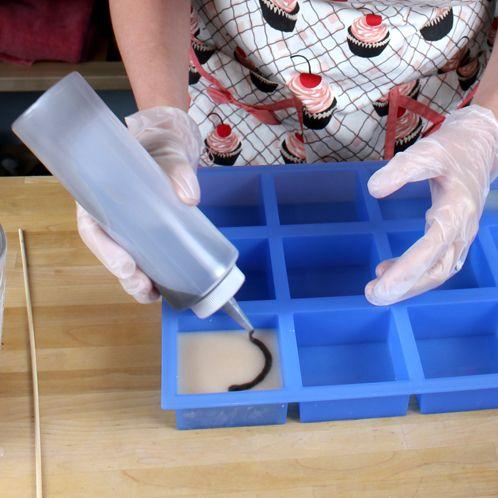homemade soap technique