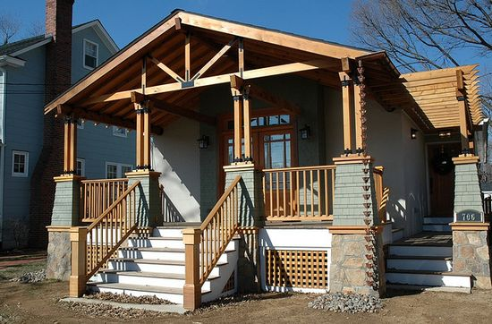 A nice addition to a craftsman style home. #craftsman