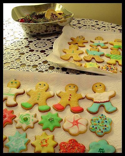cookie gathering: lemon cookies