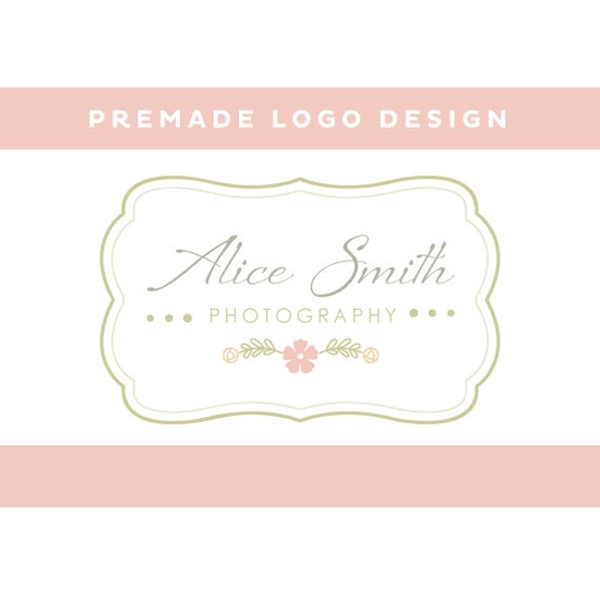 PREMADE Photography Logo Design with by eedeedesignstudios on Etsy, $35.00
