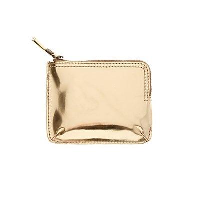 the metallic telegram pocket pouch - madewell