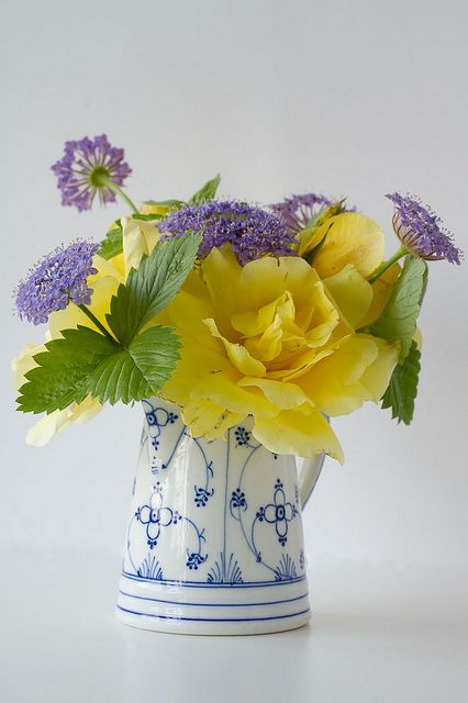 Springtime fresh floral arrangement