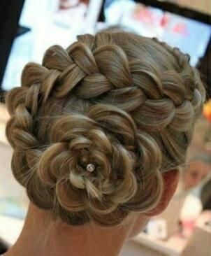 The flower braid