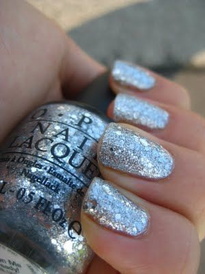 OPI: Crown Me Already. #glitz #sparkle #nails