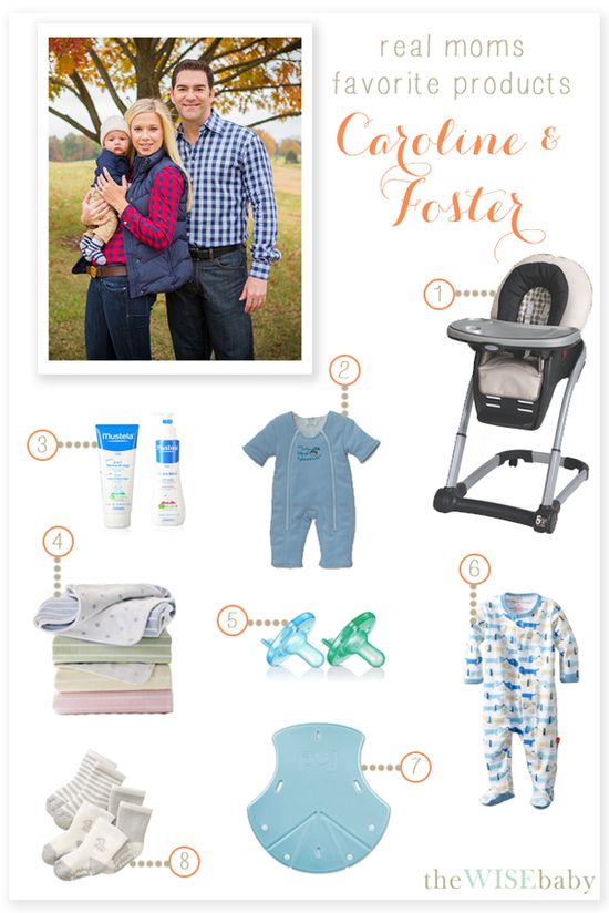 Real Moms Favorite Baby Products - Caroline and Foster - Caroline shares her favorites that work for any lifestyle!