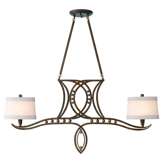 Feiss Hollywood Palm Single Tier Chandelier