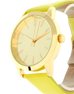 Patent Color Watch / ASOS