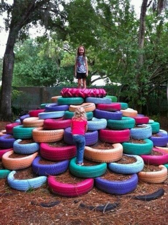 Tire tower :)