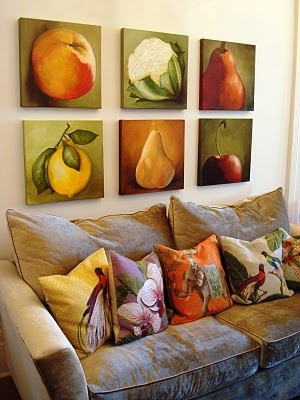 fruit and vegetable paintings