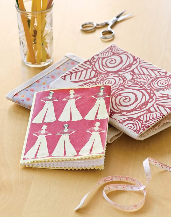 Make your own handmade journals