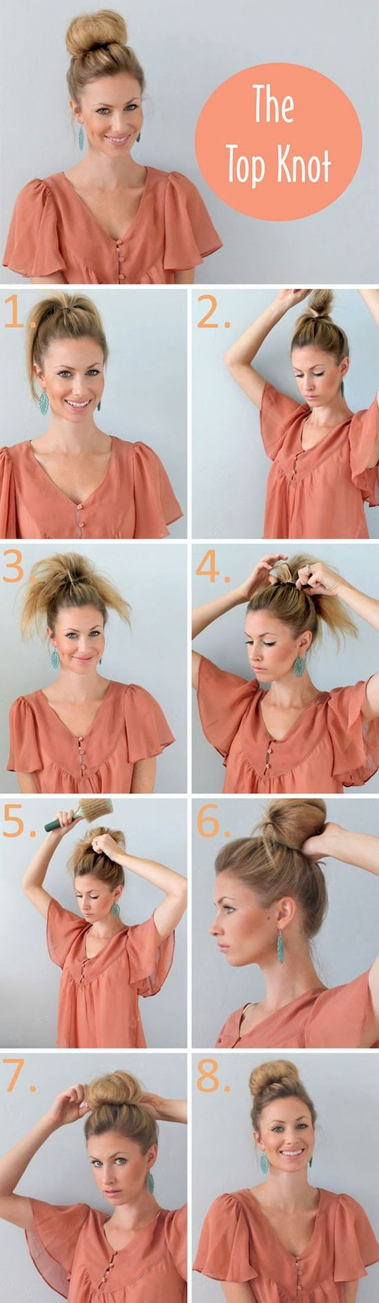 Great tutorial: The top knot