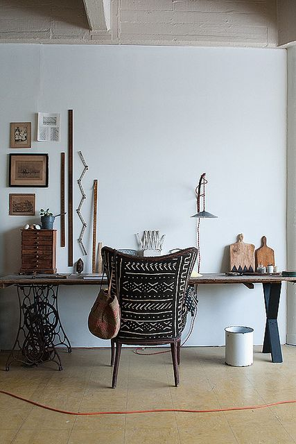 Beautiful work space - Statement chair
