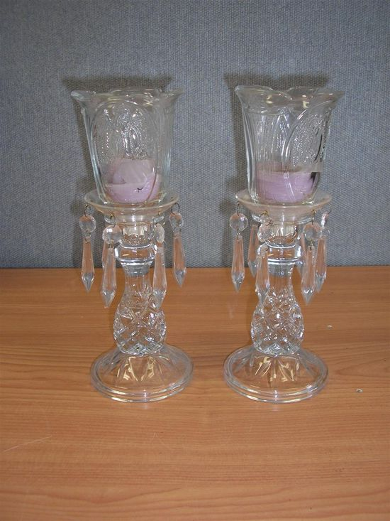 2 Home Interior Candle Holders