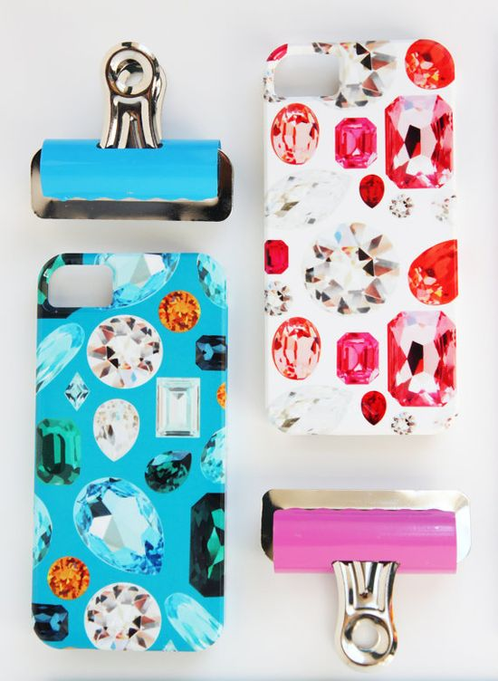 iPhone 5 or 4 Case - Gemstone Collection. $39.99, via Etsy.