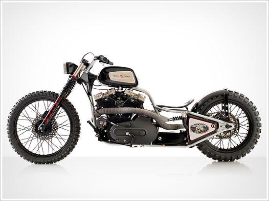 "1980 Harley XLS ""MX"" - LucidCustoms - Pipeburn - Purveyors of Classic Motorcycles, Cafe Racers & Custom motorbikes"